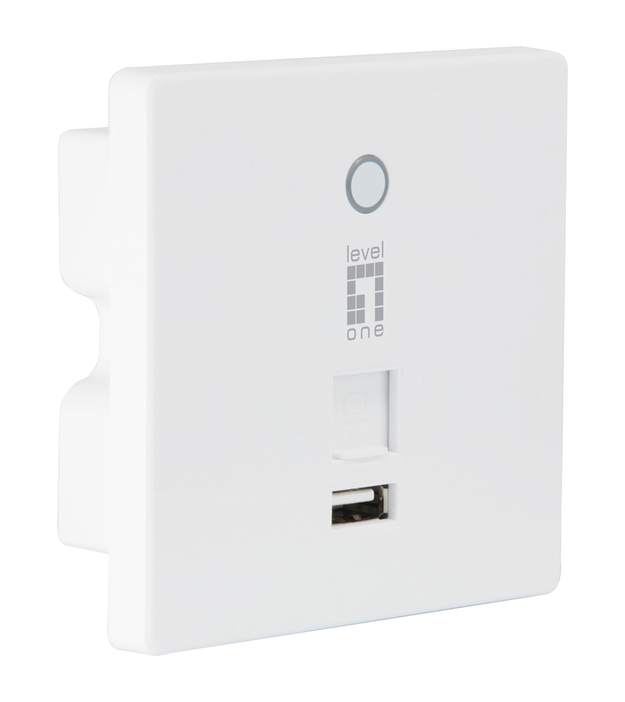 LEVELONE PoE Access point N300 WAP-6221, WiFi, 300Mbps, Ver.2.0 - LEVELONE 26352