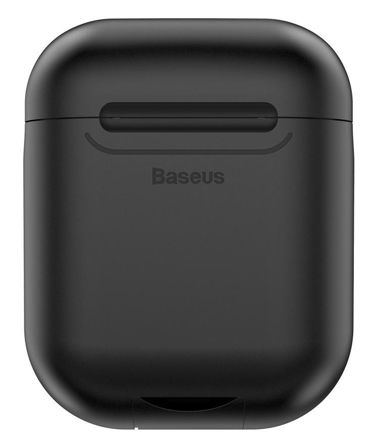 BASEUS θήκη ασύρματης φόρτισης WIAPPOD-01 για Apple Airpods, μαύρη - BASEUS 34848