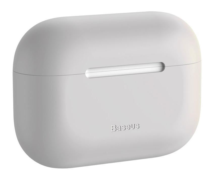 BASEUS θήκη σιλικόνης WIAPPOD-ABZ0G για Apple Airpods Pro, γκρι - BASEUS 29399