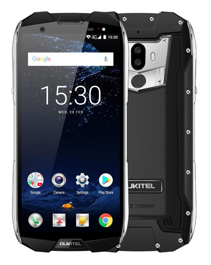 "OUKITEL Smartphone WP5000, IP68, 5.7"", 6/64GB, Octacore, 5200mAh, μαύρο - OUKITEL 27658"