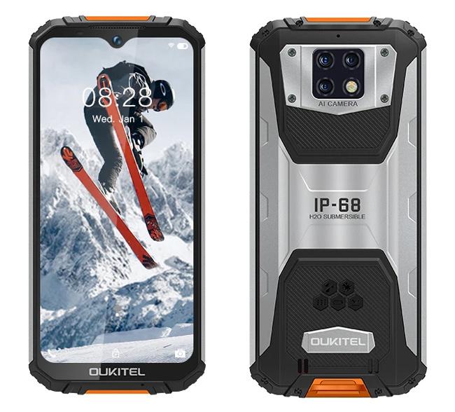 "OUKITEL Smartphone WP6, 6.3"", 6/128GB, Octa-core, 10000mAh, πορτοκαλί - OUKITEL 31521"