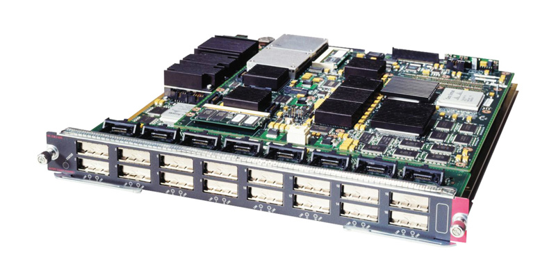 CISCO used WS-X6516-GBIC 16-Port Gigabit Ethernet Module 6500 Series - CISCO 18470