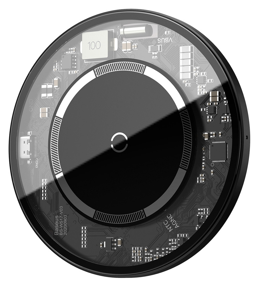 BASEUS ασύρματος φορτιστής WXJK-E01, 15W, λευκός - BASEUS 36646