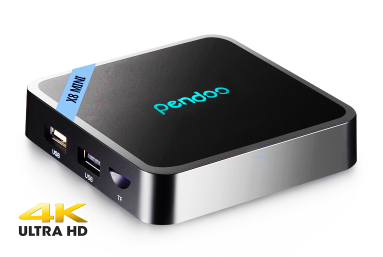 PENDOO TV Box X8 Mini, 4K, S905W, 2GB DDR3, 16GB eMMC, Android 7.1 - PENDOO 23692