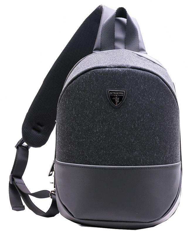 ARCTIC HUNTER τσάντα Crossbody XB00050-BK, tablet, αδιάβροχη, μαύρη - ARCTIC HUNTER 28232