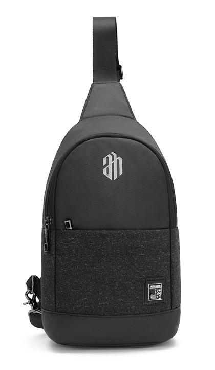 ARCTIC HUNTER τσάντα Crossbody XB00064-BK, αδιάβροχη, μαύρη - ARCTIC HUNTER 22816