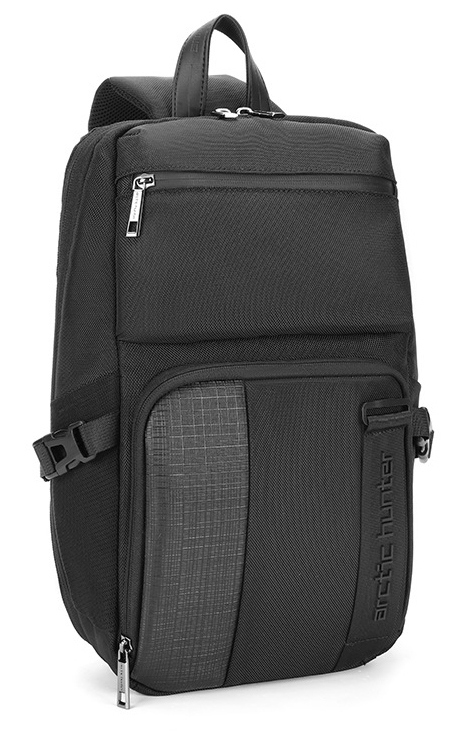 ARCTIC HUNTER Τσάντα Crossbody XB00096-BK, αδιάβροχη, μαύρη - ARCTIC HUNTER 28238