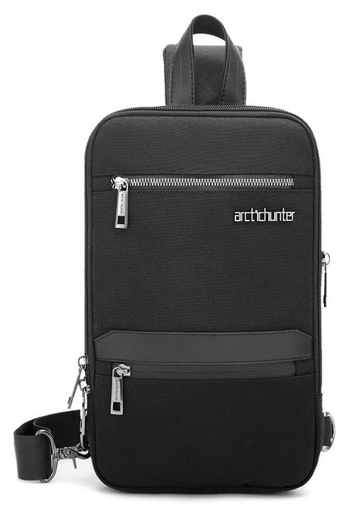 ARCTIC HUNTER Τσάντα Crossbody XB00109-BK, πτυσσόμενη, μαύρη - ARCTIC HUNTER 28237