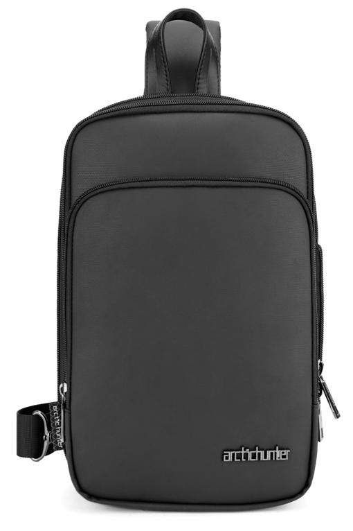 ARCTIC HUNTER τσάντα Crossbody XB00111-BK, αδιάβροχη, μαύρη - ARCTIC HUNTER 41275