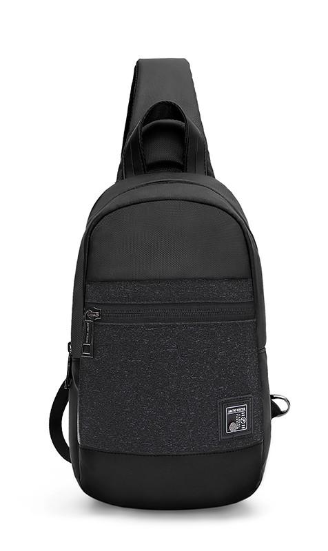 ARCTIC HUNTER τσάντα Crossbody XB0060-BK, αδιάβροχη, μαύρη - ARCTIC HUNTER 25942