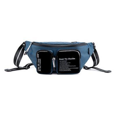 SUPER FIVE τσάντα μέσης Y00015-BL, μπλε - SUPER FIVE 36500
