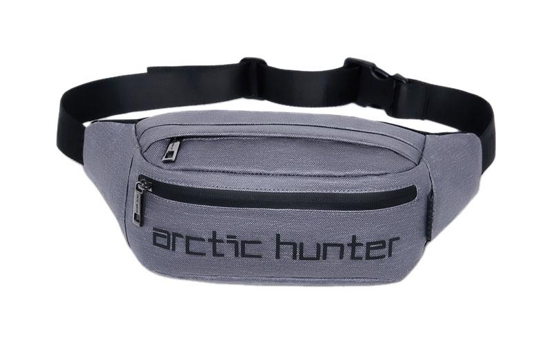 ARCTIC HUNTER τσάντα μέσης YB14000-1-LG, αδιάβροχη, ανοιχτό γκρι - ARCTIC HUNTER 22795