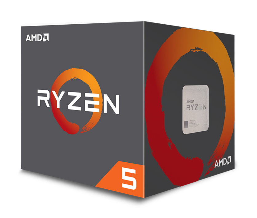 AMD CPU Ryzen 5 2600, 3.4GHz, 6 Cores, AM4, 19MB, Wraith Stealth cooler - AMD 34970
