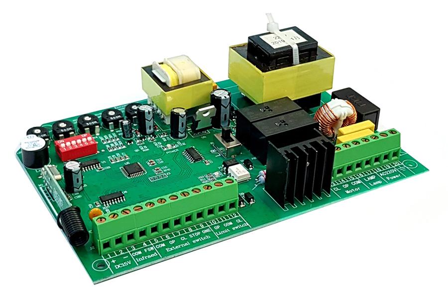 Ασύρματος δέκτης τηλεχειρισμού για συρόμενες γκαραζόπορτες YET868 433MHz - UNBRANDED 26877