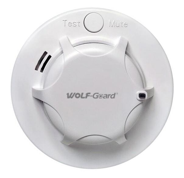 WOLF GUARD ασύρματος ανιχνευτής καπνού YG-09 - WOLF GUARD 38063