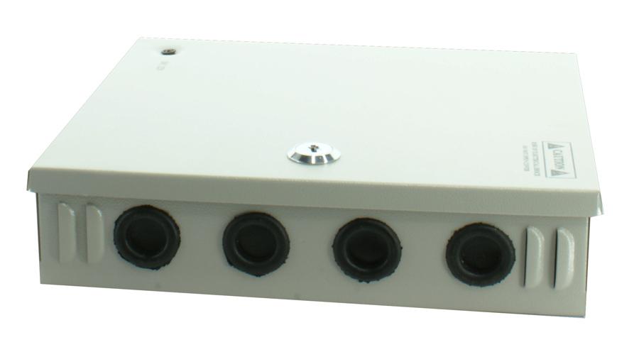 LONGSE Τροφοδοτικό Z-12V10A-9L, 220V/12V, 9 καμερών - UNBRANDED 15484