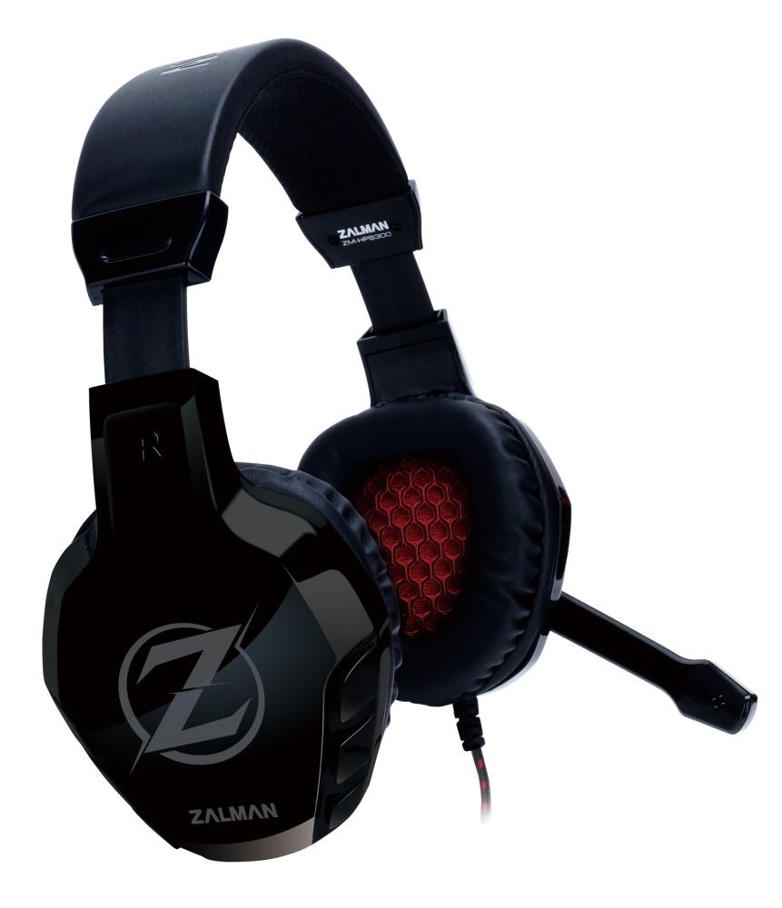ZALMAN gaming headset ZM-HPS300, 3.5mm, 50mm, μαύρο - ZALMAN 34571