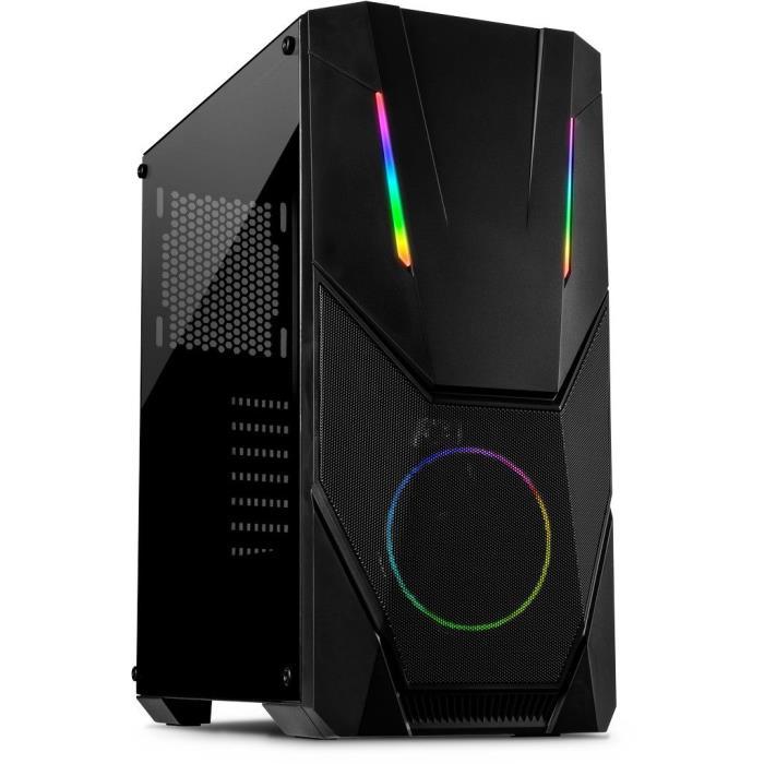Computer Case Inter-Tech IT-3303 HORNET ARGB - INTER-TECH DOM020154