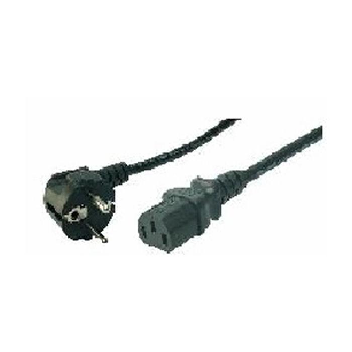 Cable Power Cord Schuko-C13 1.8m Bulk Logilink CP090 - LOGILINK DOM030241