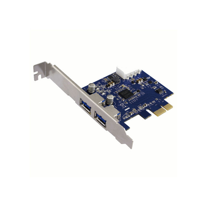 PCI Express to 2x USB 3.0 LogiLink PC0054 - LOGILINK DOM030267
