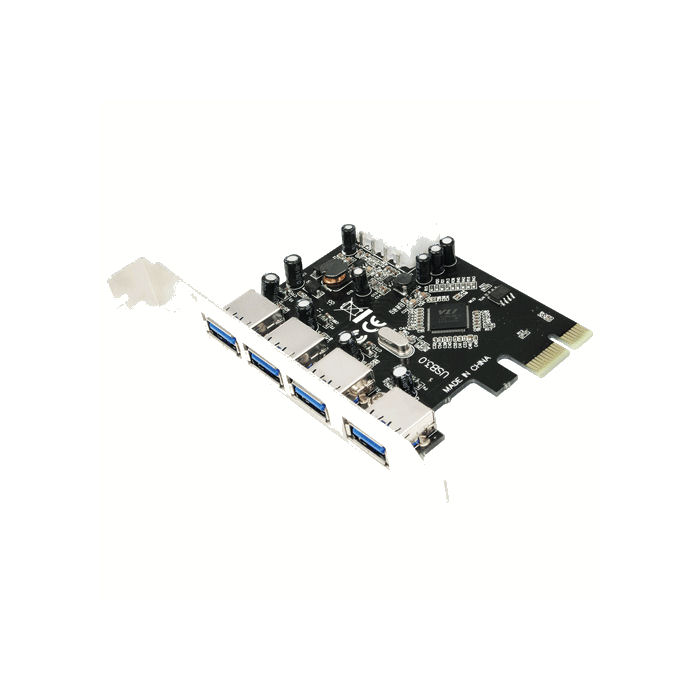 PCI Express to 4xUSB 3.0 LogiLink PC0057 - LOGILINK DOM030276