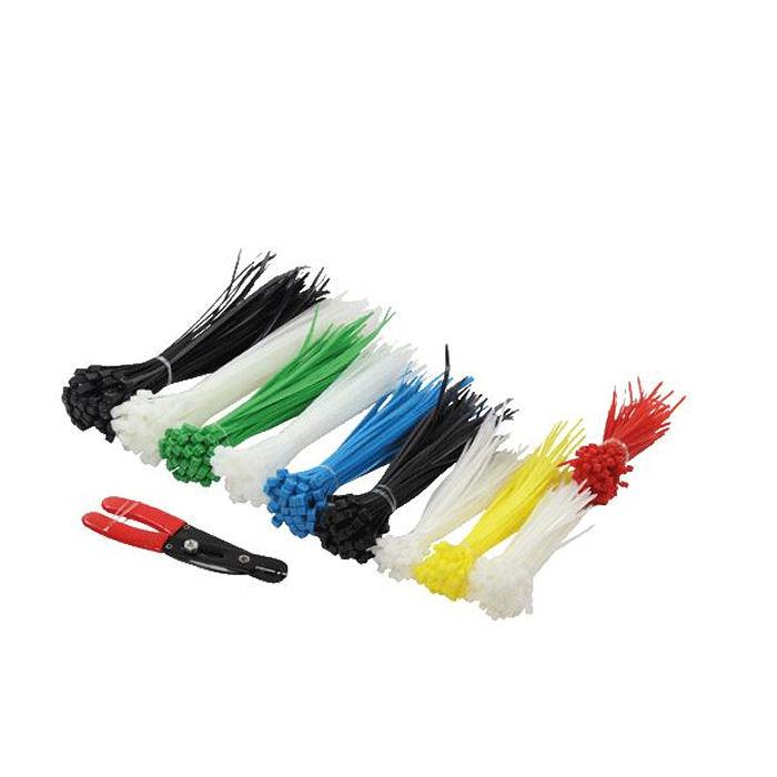 Cable Tie Set 5 len.600pcs+cutter Logilink KAB0019 - LOGILINK DOM030411