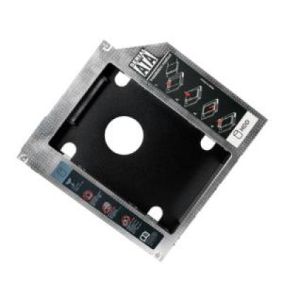 Drive Slot 2nd SATA HDD Caddy for a 9.5 mm high CD/DVD/Blue-ray LogiLink AD0017 - LOGILINK DOM030611