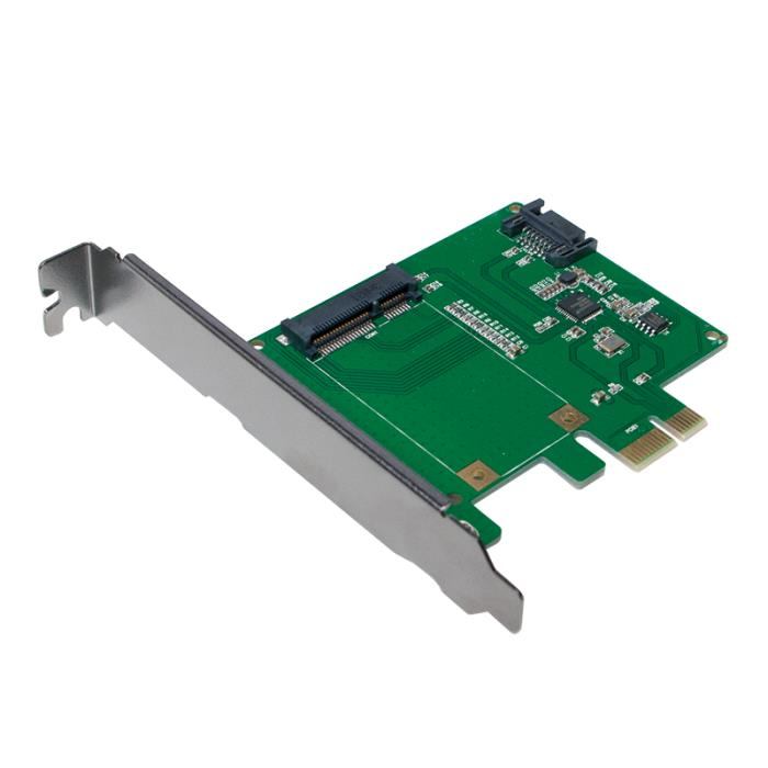 Pci Express to 1x mSATA SSD+1xSATA HDD Logilink PC0077 - LOGILINK DOM030684