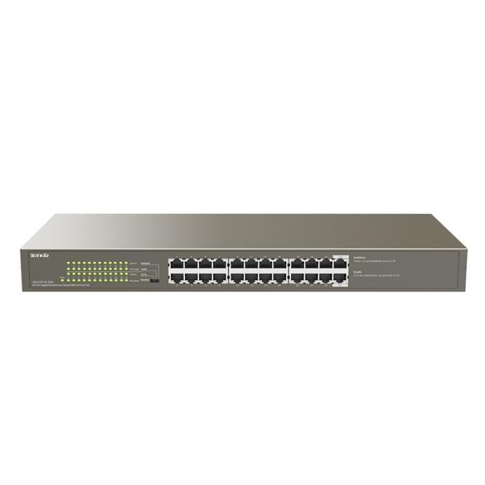 Gigabit 24port Switch POE Tenda TEG1124P - TENDA DOM070099