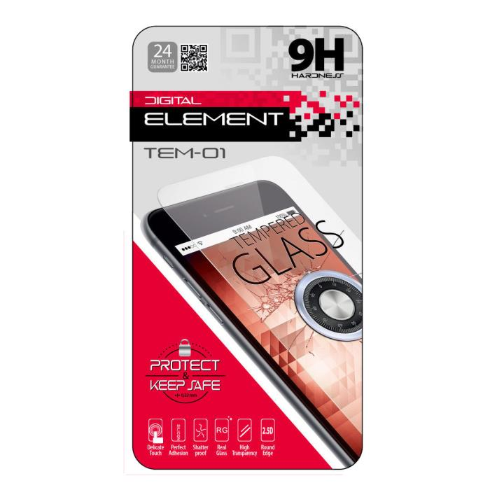 Tempered Glass Element For LG STYLUS 2 TEM-01 - ELEMENT DOM080379