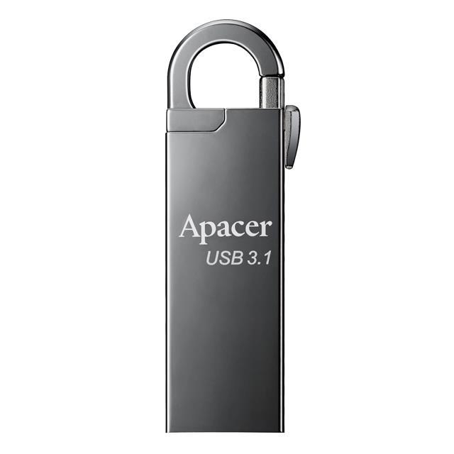 Usb 3.1 Gen1 Flash Drive 64GB Apacer AH15A Ashy RP - APACER DOM110128