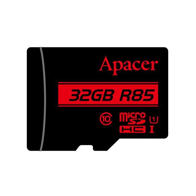 Memory Card Micro SDHC UHS-I U1 Class10 32GB Apacer R85 - APACER DOM110138
