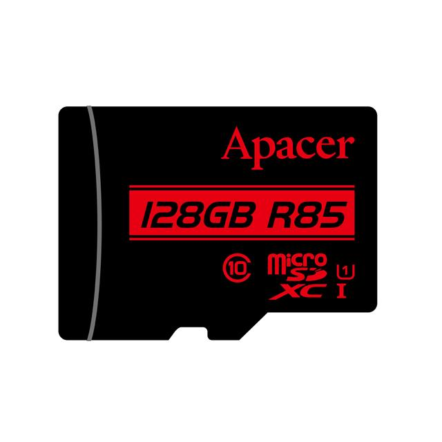 Memory Card Micro SDHC UHS-I U1 Class10 128GB Apacer R85 - APACER DOM110140