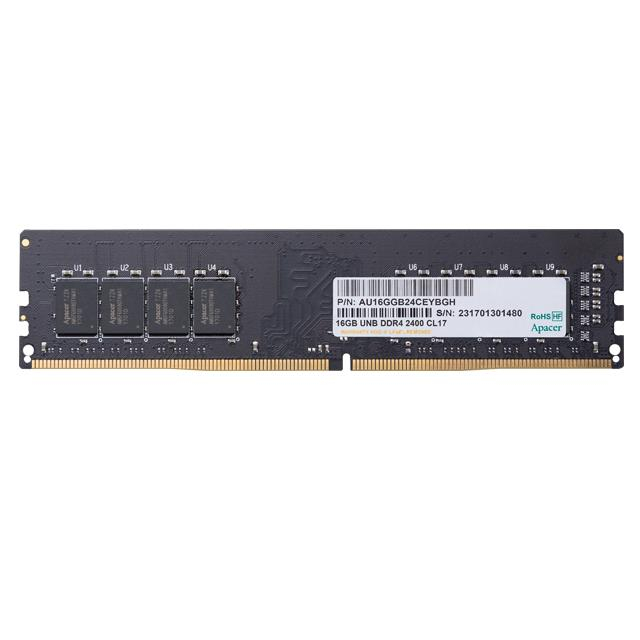 Memory 4GB 2666MHz CL19 DDR4 DIMM Apacer RP - APACER DOM110165