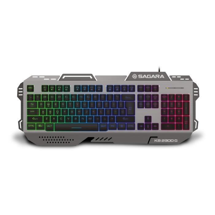 Keyboard RGB Zeroground KB-2300G SAGARA - ZEROGROUND DOM220028