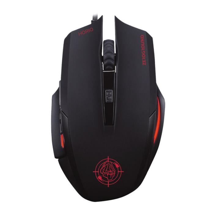 Mouse Zeroground MS-3300G HORIO v2.0 - ZEROGROUND DOM220045