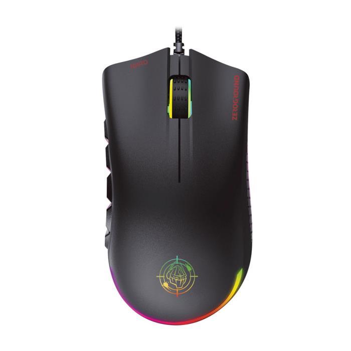 Mouse Zeroground RGB MS-3700G NIIRO PRO v3.0 - ZEROGROUND DOM220049