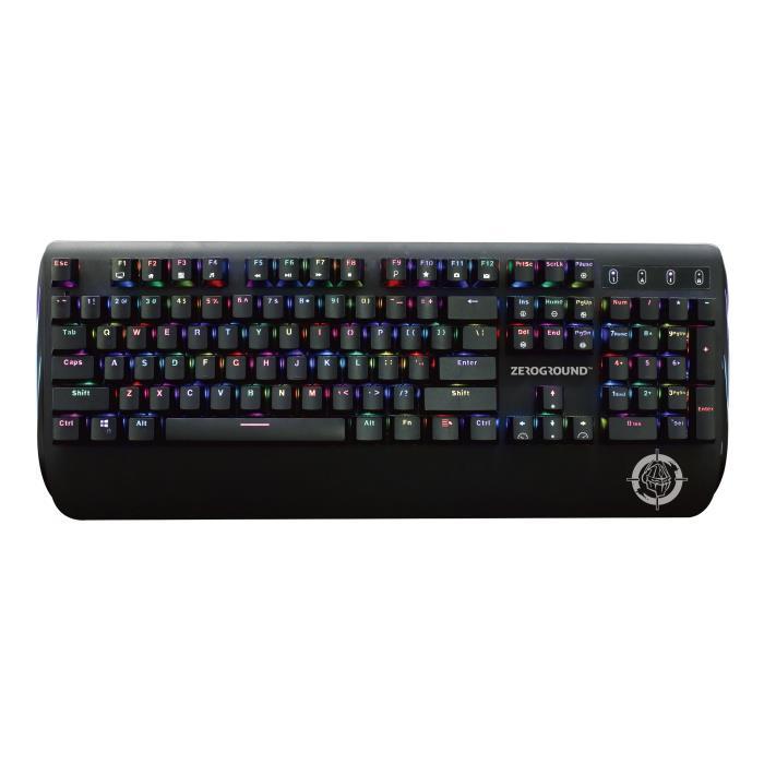Keyboard Mechanical RGB Zeroground KB-2700G SAKIMO - ZEROGROUND DOM220053