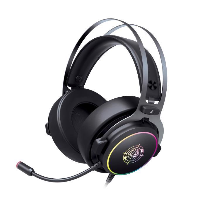 Headphone Zeroground RGB USB 7.1 HD-2900G HATANO v2.0 - ZEROGROUND DOM220056