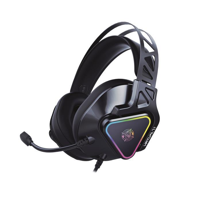 Headphone Zeroground RGB HD-3000G AKECHI PRO - ZEROGROUND DOM220058