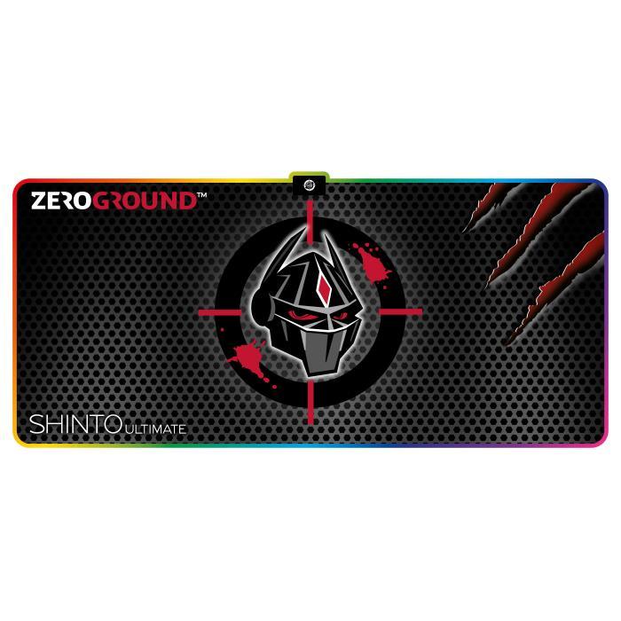 Mousepad Zeroground RGB MP-2000G SHINTO ULTIMATE - ZEROGROUND DOM220063