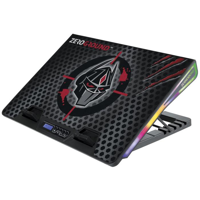 Notebook Cooler Zeroground RGB NTC-1200G SAKAI v2.0 - ZEROGROUND DOM220064