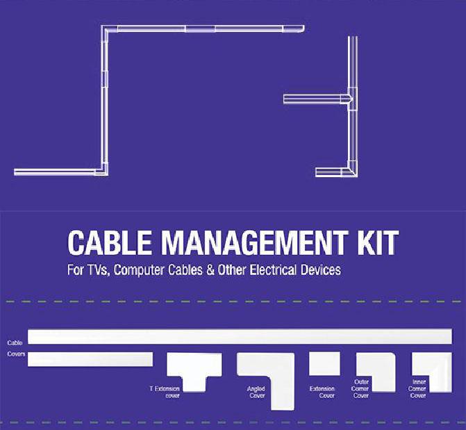 Cable Management Kit Focus Mount CM-8100 - FOCUS MOUNT DOM240027