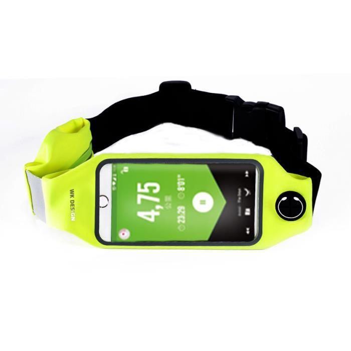 Lemove Waist Bag WK Green WT-B08 - DOM250206
