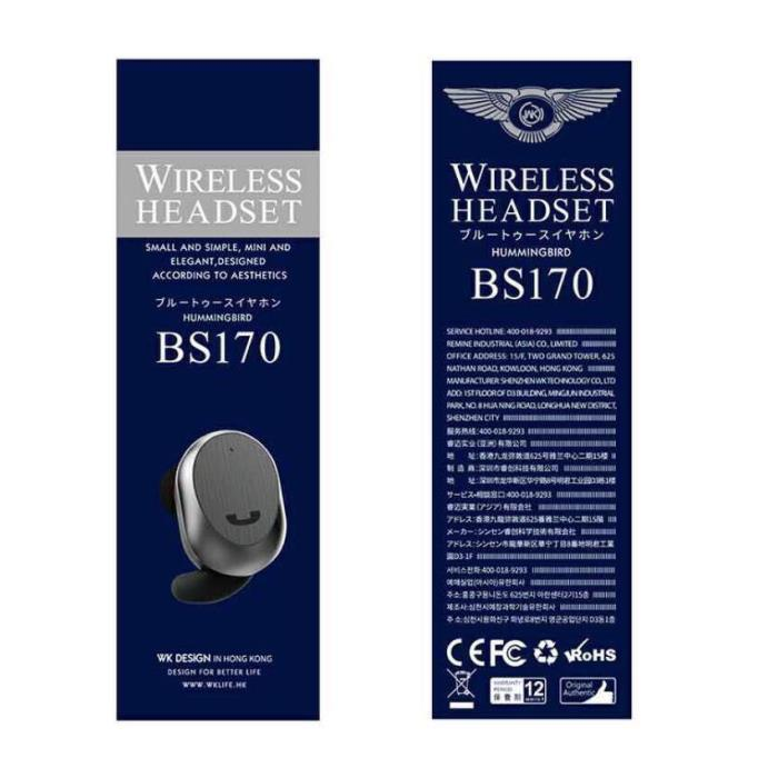 Handsfree WK BT BS-170 Black - DOM250353
