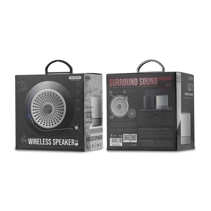 Speaker BT WK D6 Black - DOM250499