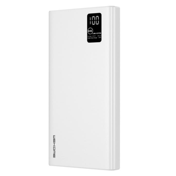 Power Bank WK 20000mAh PD22.5W White WP-123 - DOM250518