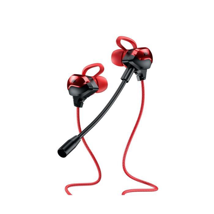 Gaming Earphones WK ET-Y30 Red - DOM250578