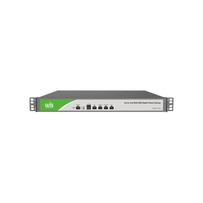 Gateway WISP Multi-WAN Gigabit Hotspot WIS-R7100 - DOM290019