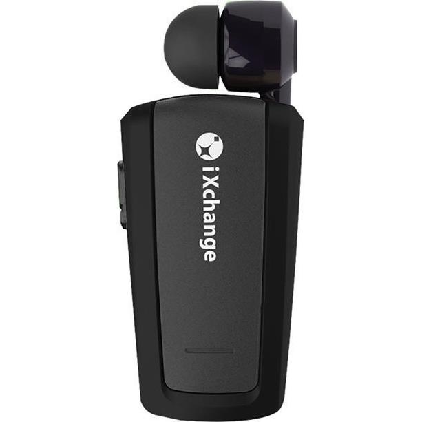 Retractable BT Mini Headset UA25 Black iXchange - IXCHANGE DOM310001